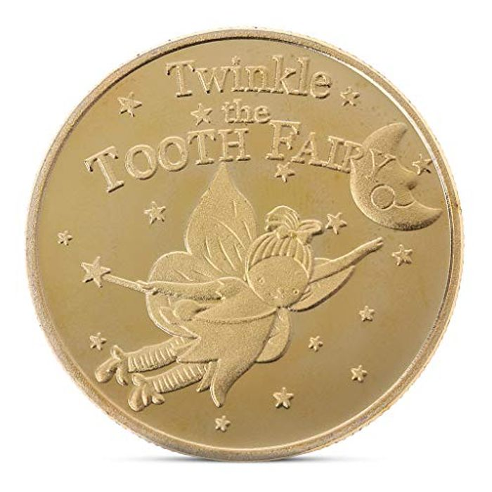 LisanlTooth Fairy Commemorative Coin Collection Gift FREE DELIVERY