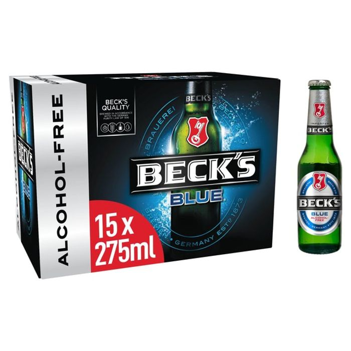 Beck's Blue German Pilsner Beer - 15 X 275 Ml - £7 Instore and Online