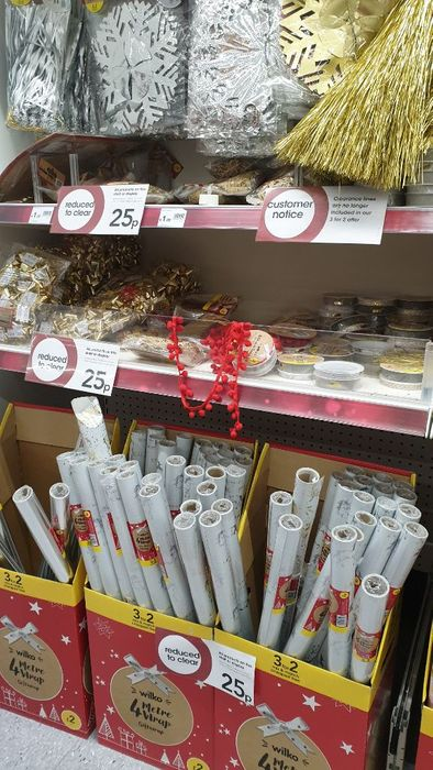 Further Xmas Reductions at Wilkos! Just 25p
