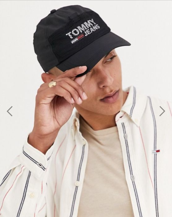 Tommy Jeans Cool City Cap in Black