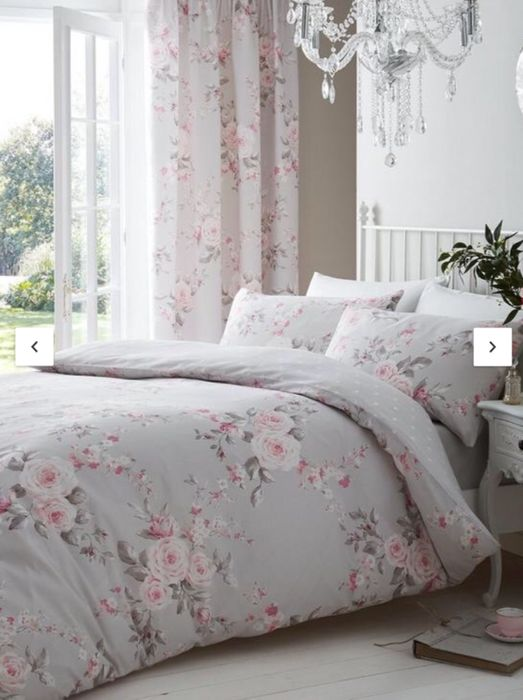 Catherine Lansfield Canterbury Easy Care Duvet Cover Set