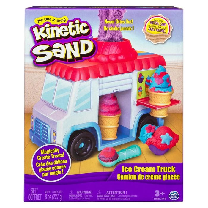 Kinetic Sand Ice Cream Truck - Only £6.99!
