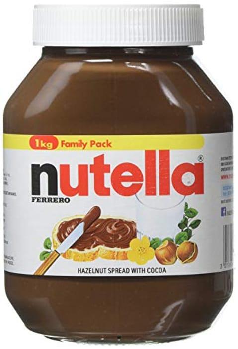 Nutella Hazelnut Chocolate Spread, 1 Kg (Amazon Pantry)