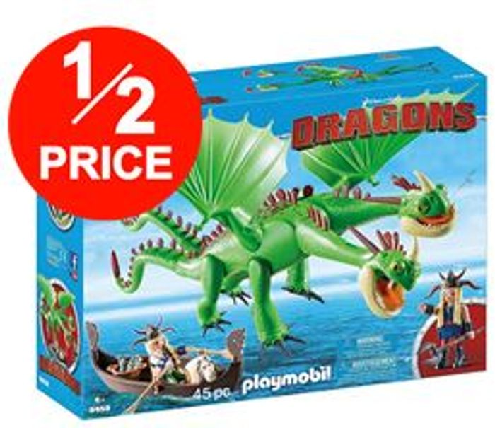 Playmobil 9458 Dragons Ruffnut and Tuffnut with Barf and Belch