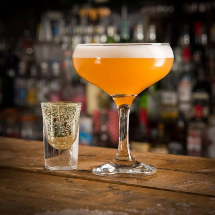Free Light Pornstar Martini drink at Pitcher & Piano