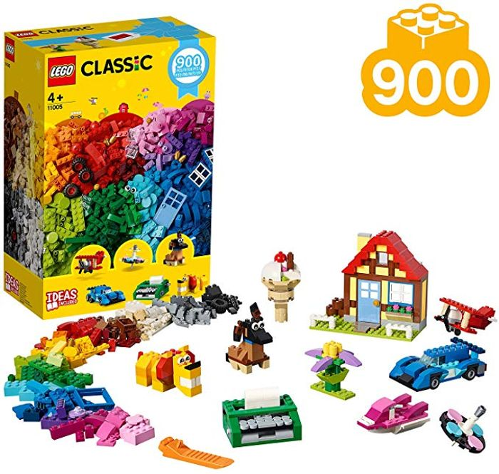 LEGO Classic Creative Fun - 11005 (900 Pieces!)