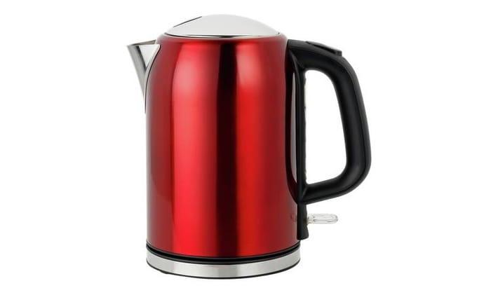 Cookworks Bullet Kettle - Red Only £14.99