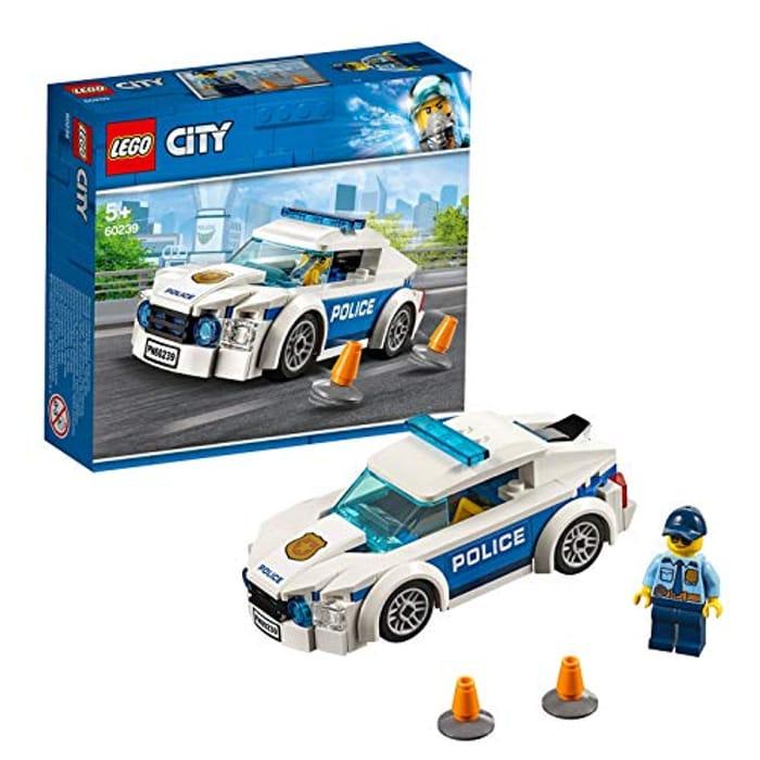 Best Price! LEGO City - Police Patrol Car (60239) - Save £2.01!