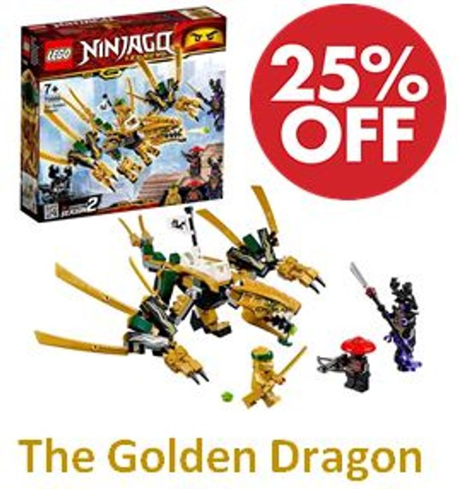 LEGO NINJAGO The Golden Dragon (70666)