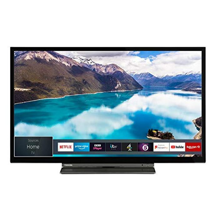 Cheap Toshiba 24-Inch HD Ready Smart TV with Freeview Play Only £149