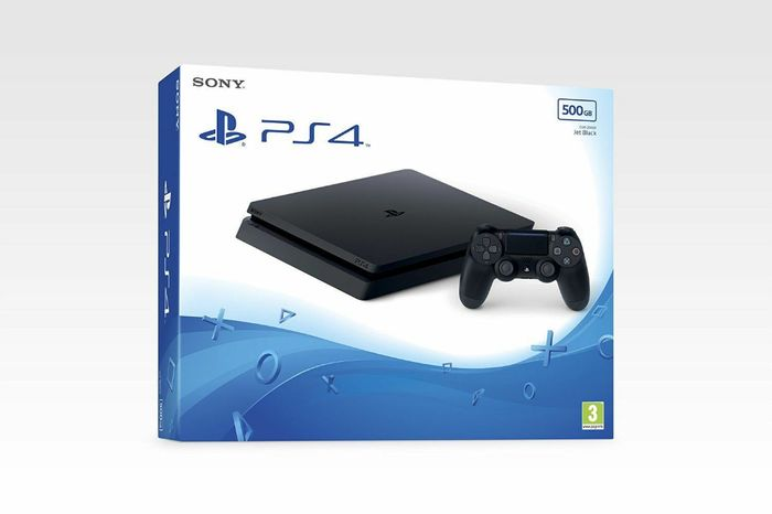 PS4 Slim New Look 500gb Black Console - Brand New & Sealed Only £229.85