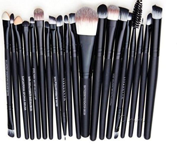 20 Piece Make-up Brush Set - Only £3.06 Delivered