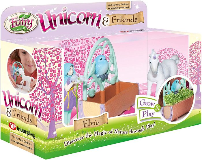 My Fairy Garden Unicorn and Friends Only £8.99