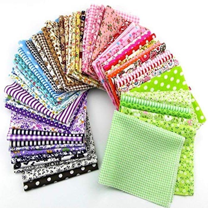 5 Free Cotton/Linen Fabric Samples.