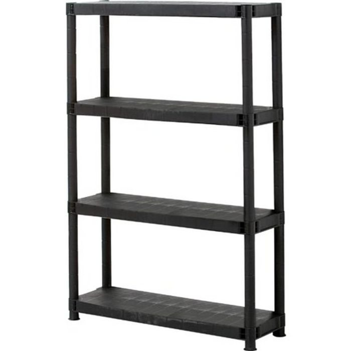 4 Tier Plastic Shelving Unit Only £13.33