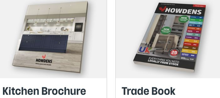 Get A HOWDEN Kitchen Brochure Or Trade Book For Builders FREE BY POST