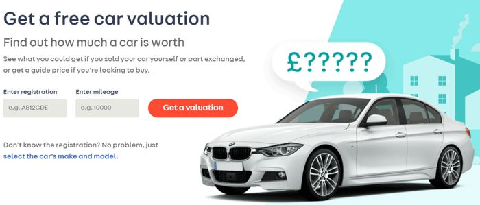 Get A FREE Car Valuation From AUTOTRADER