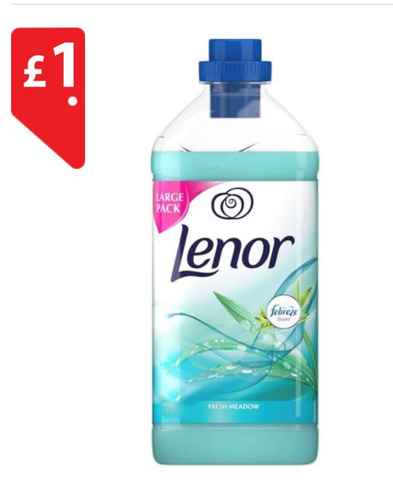 Lenor Fabric Conditioner Fresh Meadow *71 Washes 1Litre *ONLY £1