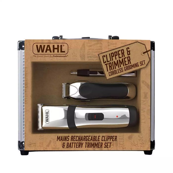 Wahl - Clipper and Trimmer Cordless Grooming Set 9655-805