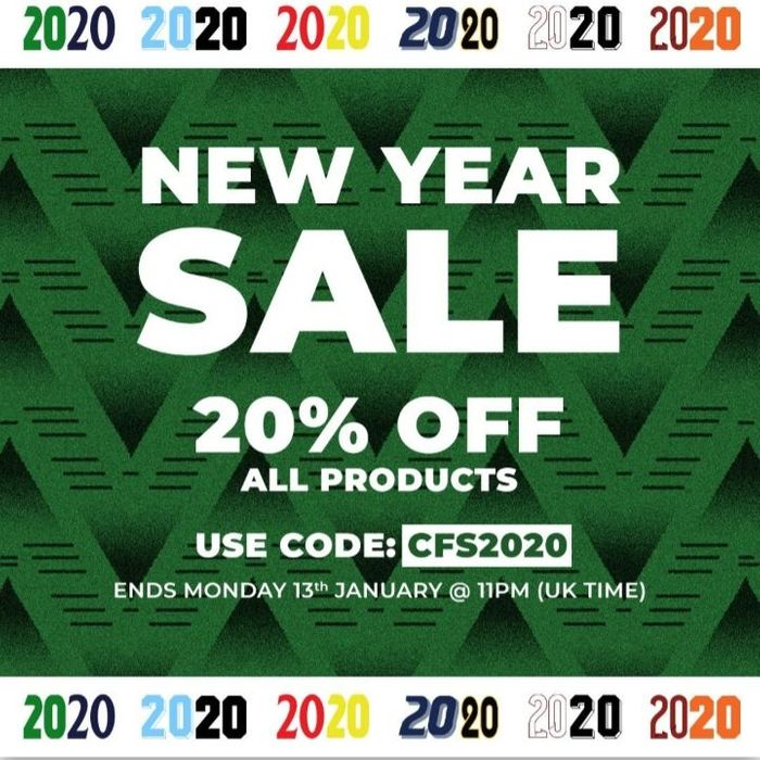 20% off All Products Using Code