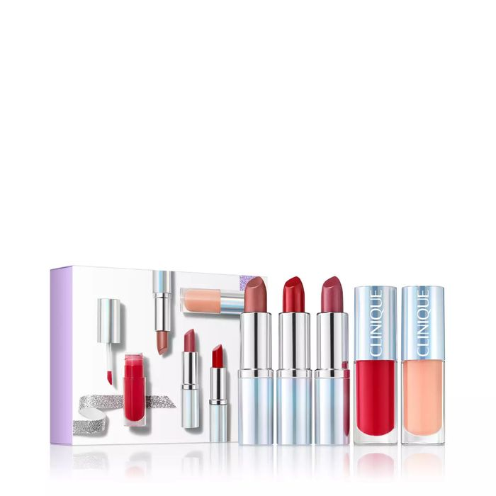 Best Price! Clinique - Limited Edition 'Plenty of Pop' Lip Colour Gift Set