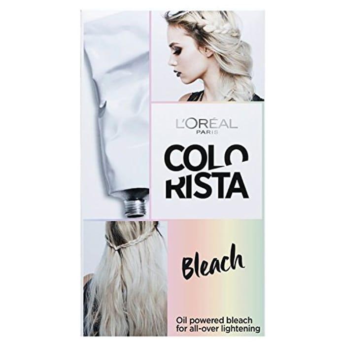 L'Oreal Colorista Effect Permanent Hair Dye, Bleach Lightening Kit