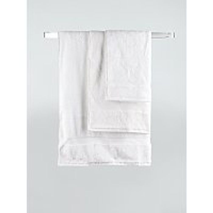 White Super Soft Cotton Hand Towel, Only £2.00!
