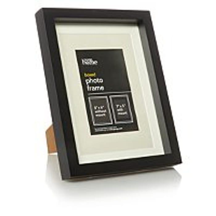 Black Boxed Frame 7x5 Inch 3 Pack - HALF PRICE!