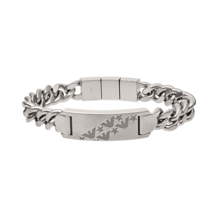 Cheap Emporio Armani ID Men's Bracelet at Beaverbrooks Only £79!