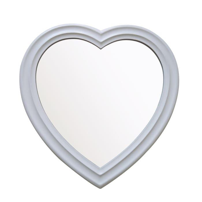 Heart Shaped Mirror - HALF PRICE!