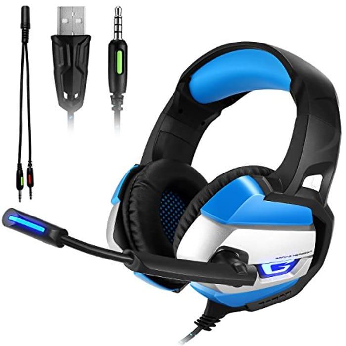 ATUTEN Gaming Headset - Onikuma K5 3.5mm - HALF PRICE!