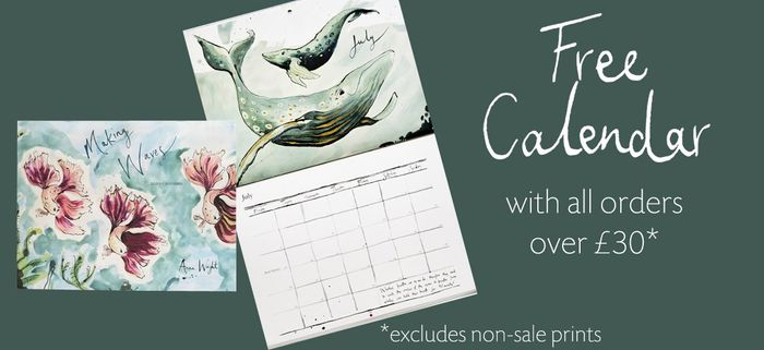 Special Offer - FREE 2020 Calendar When You Spend over £30 on Gifts Mugs & Cards