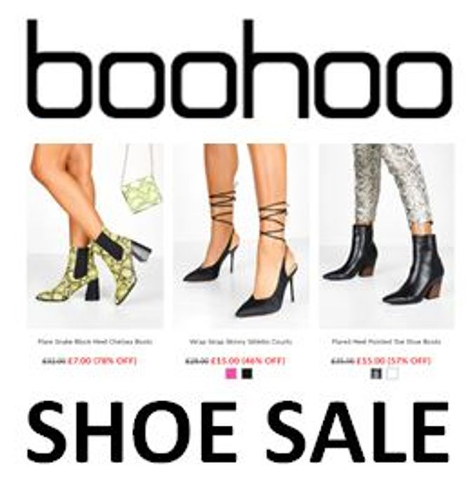 Special Offer - BOOHOO SHOE SALE - up to 80% off