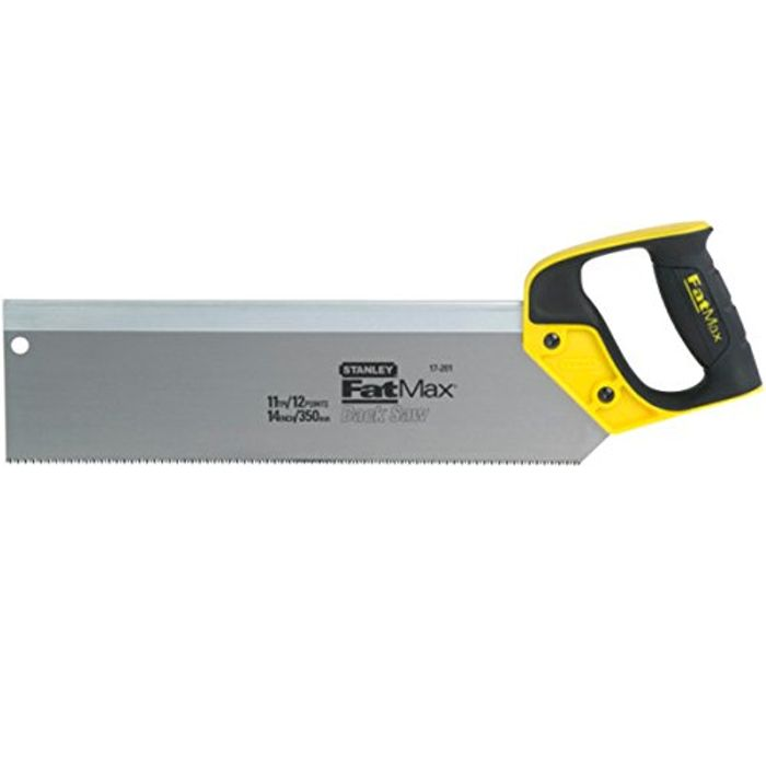 Stanley 217202 14-Inch 350mm FatMax Tenon/ Back Saw 13tpi - 38% Off!