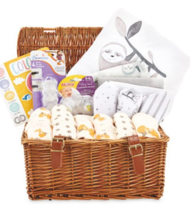 Woodland Animal Baby Hamper
