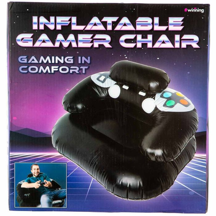 Inflatable Gaming Chair on Sale From £12.46 to £9.99