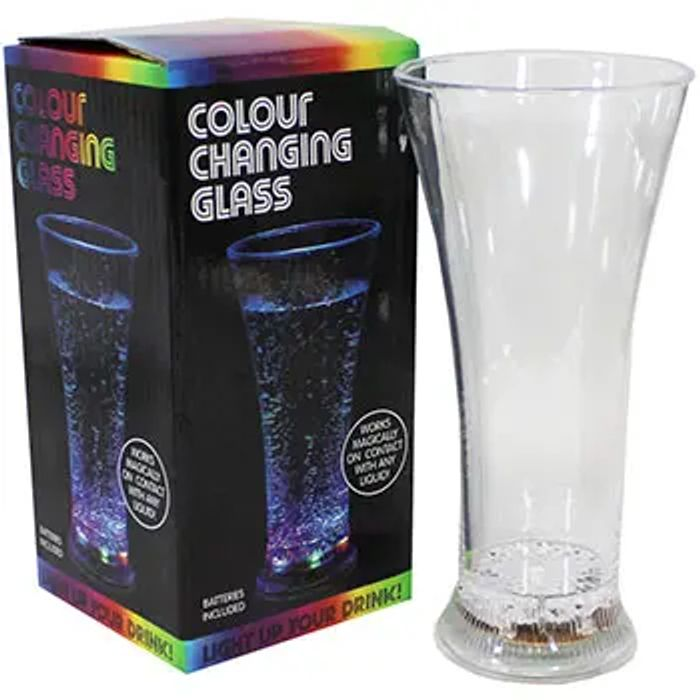 Colour Changing Glass - Only £2.40 with Code