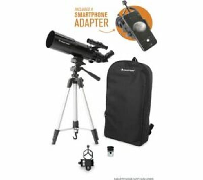 CELESTRON Travelscope 80 22030-CGL Refractor Telescope
