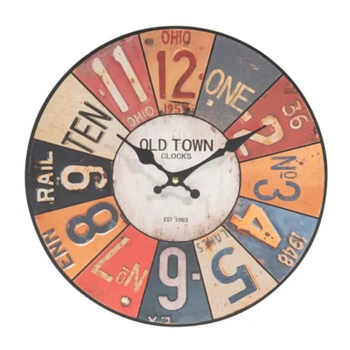 50% Off Unique USA Clock