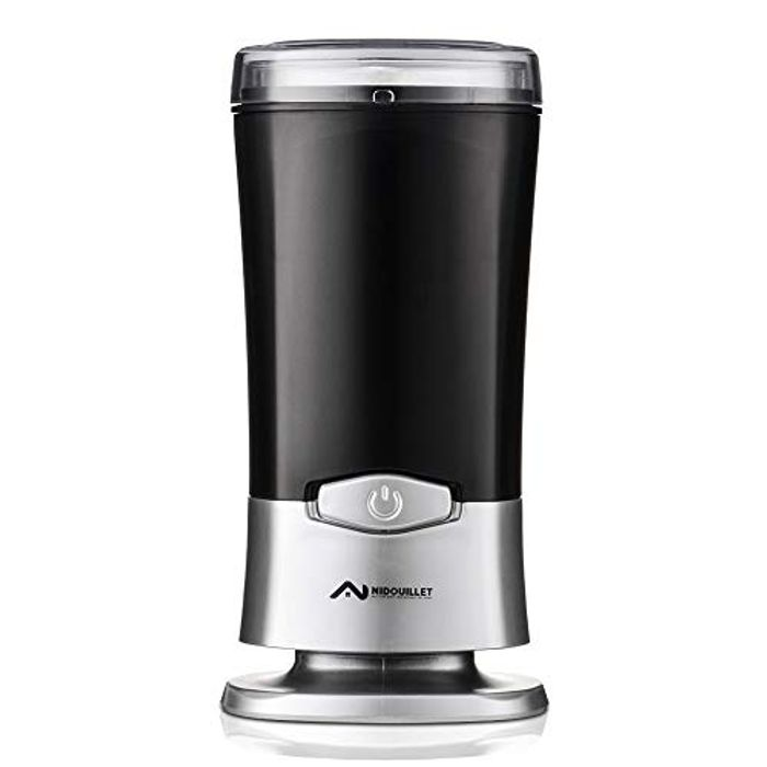 Nidouillet Electric Coffee Grinder, 200W