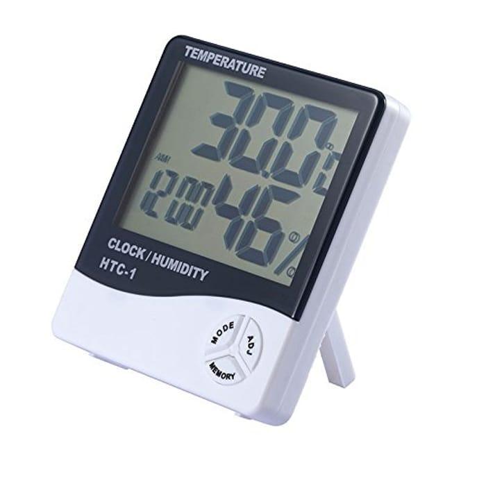Digital LCD Indoor Outdoor Room Electronic Temperature Humidity Meter