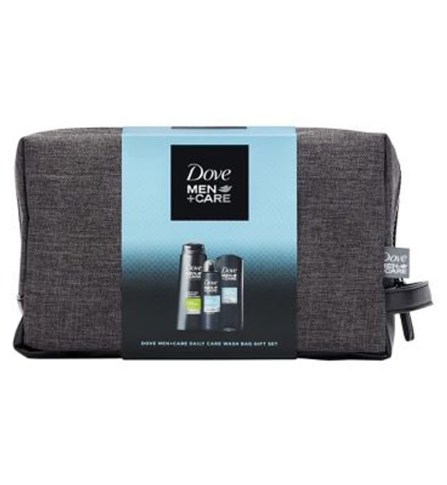 Dove Men + Care Daily Care Washbag Gift Set