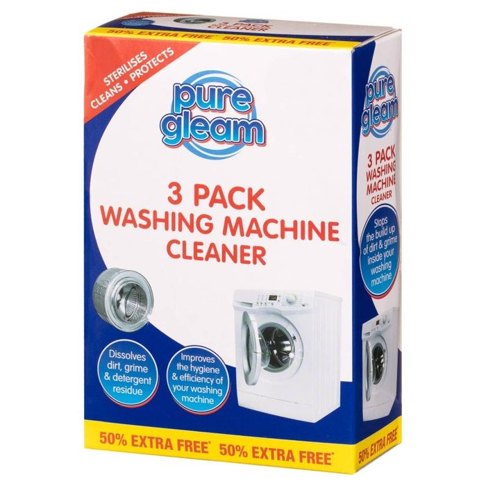 Washing Machine Cleaner 3pk