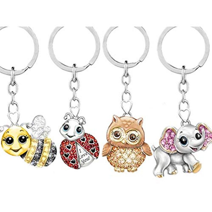 Animal Shape Key Ring 70% off + Free Delivery