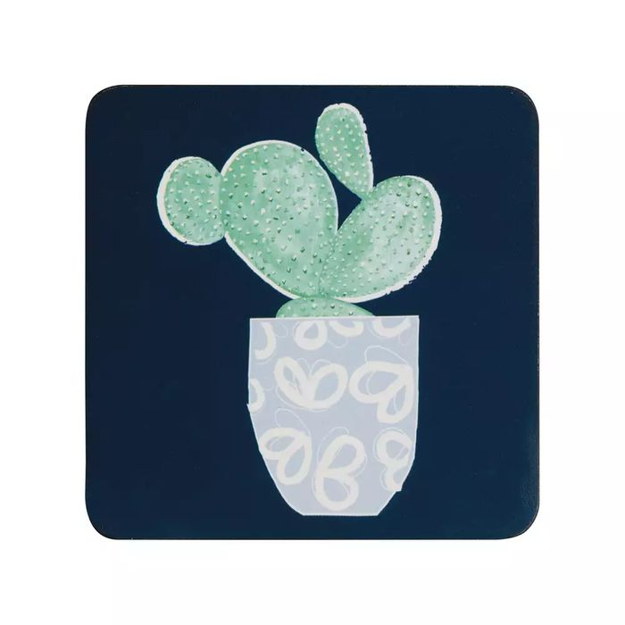 Denby Set of 6 Cacti Square Coasters - save £1.71