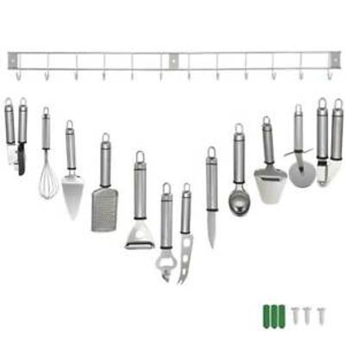 12 Piece Stainless Steel Kitchen Utensil & Gadget Set