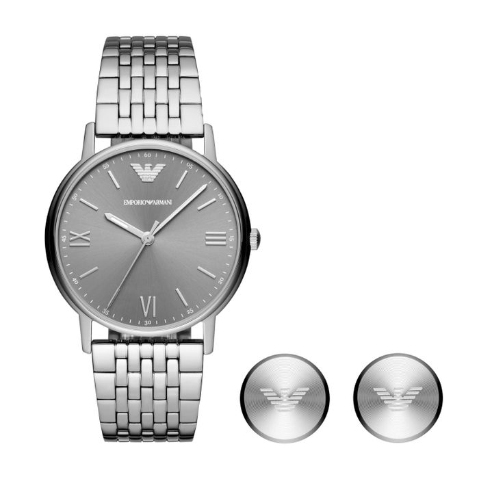 Cheap Emporio Armani Watch and Cufflink Men's Box Set, Only £127!