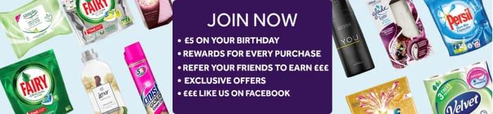 Sign Up To Poundshops Rewards Program FREE And Get A Little Bit Back!
