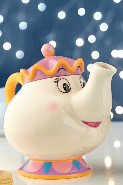 Cheap Beauty and the Beast Mrs Potts Teapot - Only £19.99