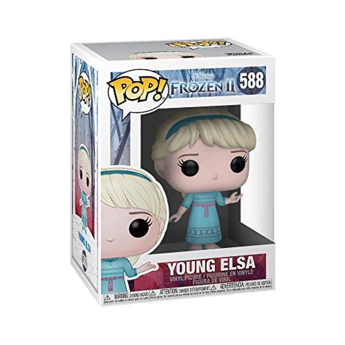Best Price! Funko POP. Disney: Frozen 2 - Young Elsa at Amazon